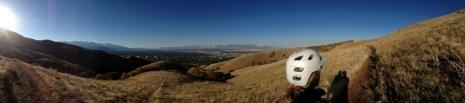 Salt Lake Valley from Shoreline Trail