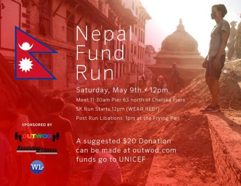 Rezalution Fitness, Fund Run, Nepal, Reza Pazooki